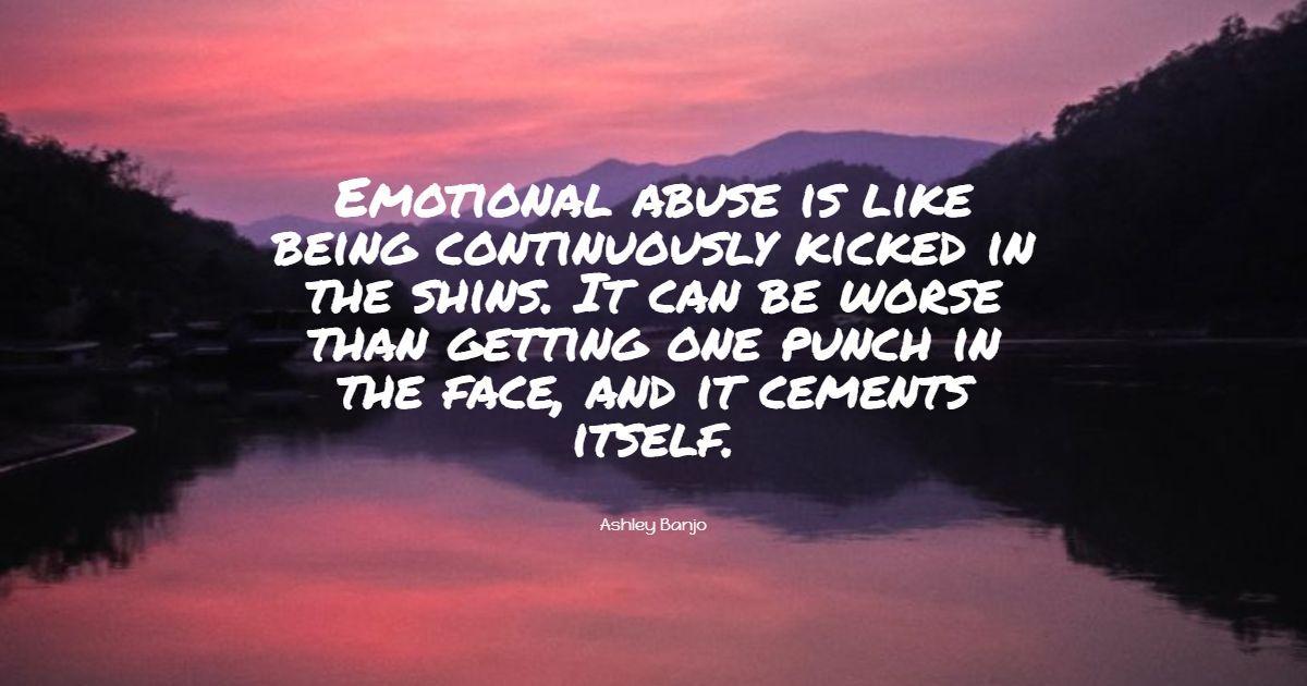 15+ mejores citas de abuso emocional: selección exclusiva